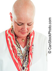 Cancer Survivor - Hair Loss - Cancer survivor has lost her...