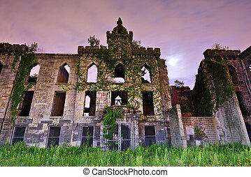 Smallpox Hospital Ruins - Ruins from the Smallpox Hospital...