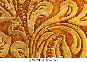 Abstract synthetic leather texture pattern