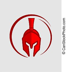 Warrior - Great red warrior icon