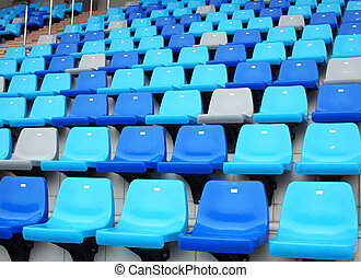 Audience seat in stadium