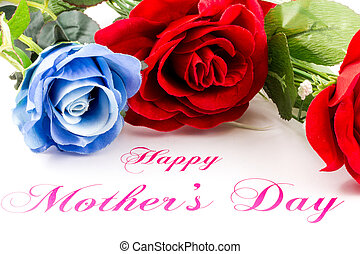 Happy mother s day with roses