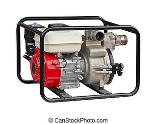 Water pump on a white background