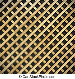 lattice - wooden lattice.