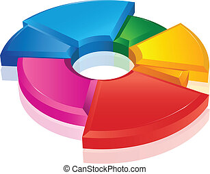 Business pie chart Paper Info graphics. For documents,...