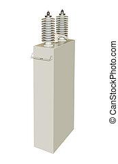 alto-voltagem, Capacitor