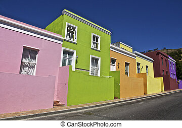 Bo Kaap in Cape Town, South Afica