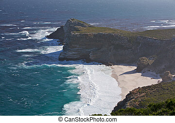 Cape of Good Hope - Dramatic Coastline viewed from Cape...
