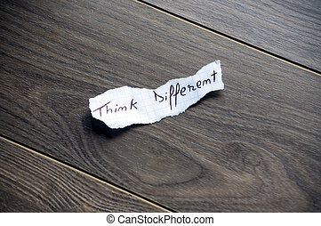 Think different typography - Think different written on...