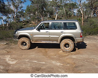 Four Wheel Driving - Highly Modified 4wd