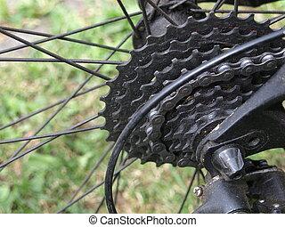sprocket - back wheel with sprocket