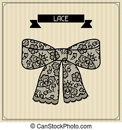Lace Vintage lace background, floral ornament