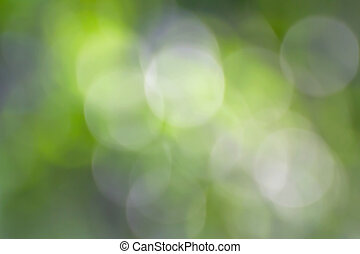Green bokeh abstract - Blurred lights green bokeh abstract...