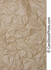 wrinkled paper - old wrinkled brown paper