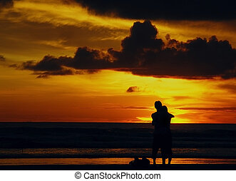 Romantic Sunset on Kuta - Seeing sunset with couple will be...
