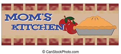 my moms kitchen
