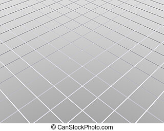 abstract background with metal floor