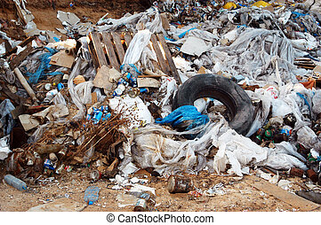 Garbage and environmental waste