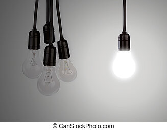 Hanging light bulbs  - Hanging light bulbs