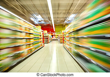 Supermarket - Image of supermarket interior