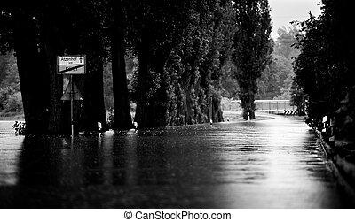 Overflooded Street
