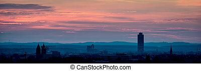 Sunrise over Nuremberg
