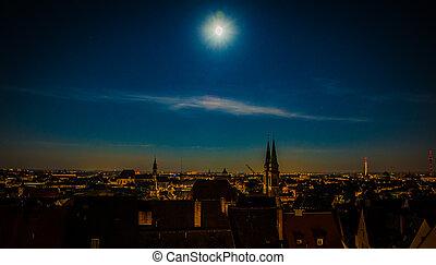 Full Moon Over Nuremberg
