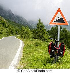 Colle dell'Agnello, Val Varaita - Road to Colle dell'Agnello...
