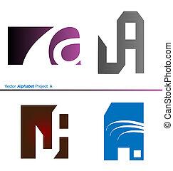 Vector Alphabet Project a 2