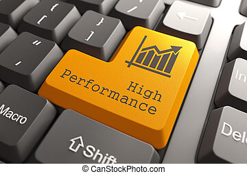 Keyboard with High Performance Button. - Orange High...
