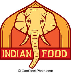indian food label (design)