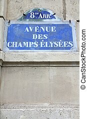 Paris - Champs Elysees - Paris, France - Champs Elysees...