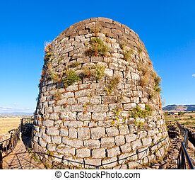 Nuraghe Santu Antine central tower