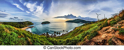 Phuket viewpoint andaman sea, Thailand