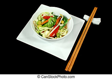 Asian Stir Fry Vegetables - Delicious Asian sty fry...