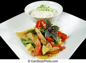 Creamy Thai Chicken Curry 1 - Delicious creamy Thai chicken...