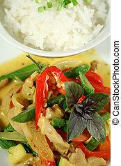 Creamy Thai Chicken Curry 2 - Delicious creamy Thai chicken...