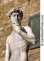 David statue in Florence, Italy