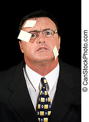 Post-it Note Salesman 2 - Stunned salesman completely...
