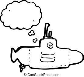 yellow submarine cartoon