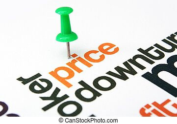 Price downturn