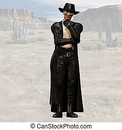Bad Guy #02 - Wild West Series with Cowboys, Indians, Good...