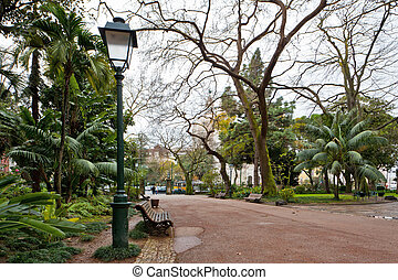 LISSABON, parque, da, estrela