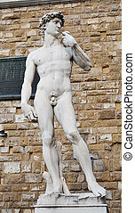 Statue of David by Michelangelo - Statue replica of David by...