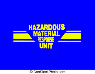 Emergency Response - Photo of a Hazardous Material Response...