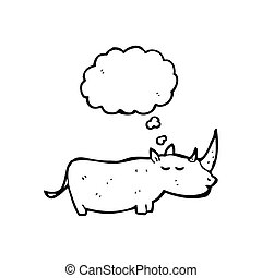 rhinoceros cartoon