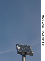 Solarcell - Solar-cells on a roof