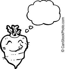 turnip cartoon character