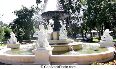 Romanian Water Fountain