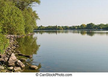 Wascana Lake, Regina, Saskatchewan, Canada
